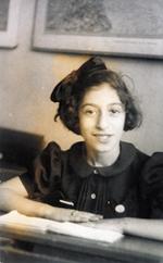 1940 | 23 juli • Judith Wurms wordt 8 jaar