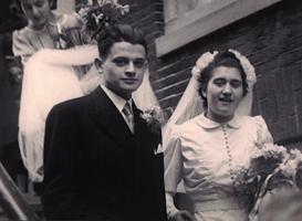 1941| 18 december • Jules Schelvis trouwt met Rachel